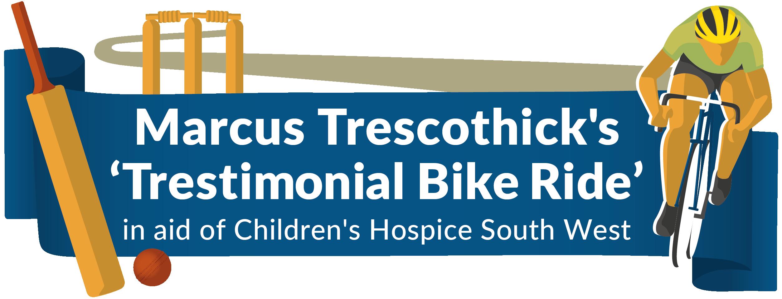 Marcus Trescothick Cycle Ride Logo