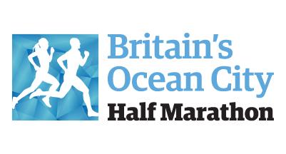 Logo Britains Ocean City Half Marathon