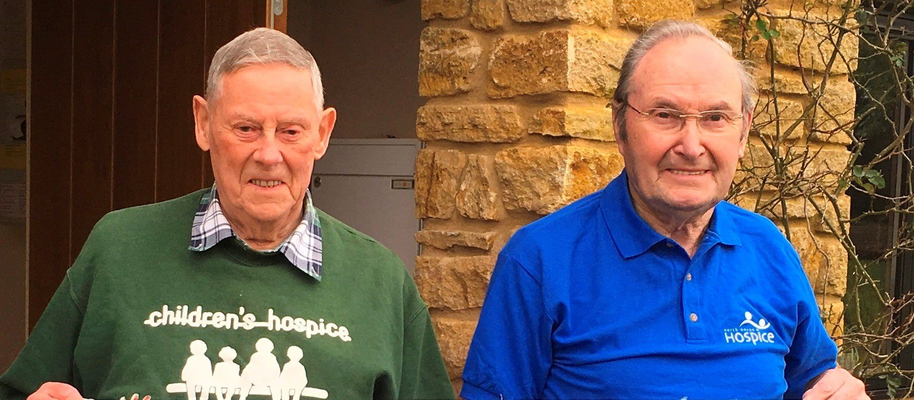 Proof that you are never too old! Ray and Arthur set to ...