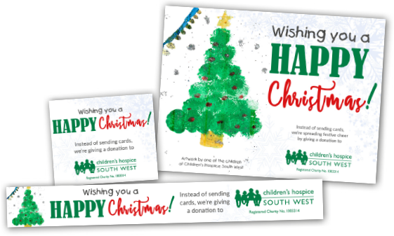 Christmas e greetings childrens hospice south west corporate christmas graphics suite m4hsunfo