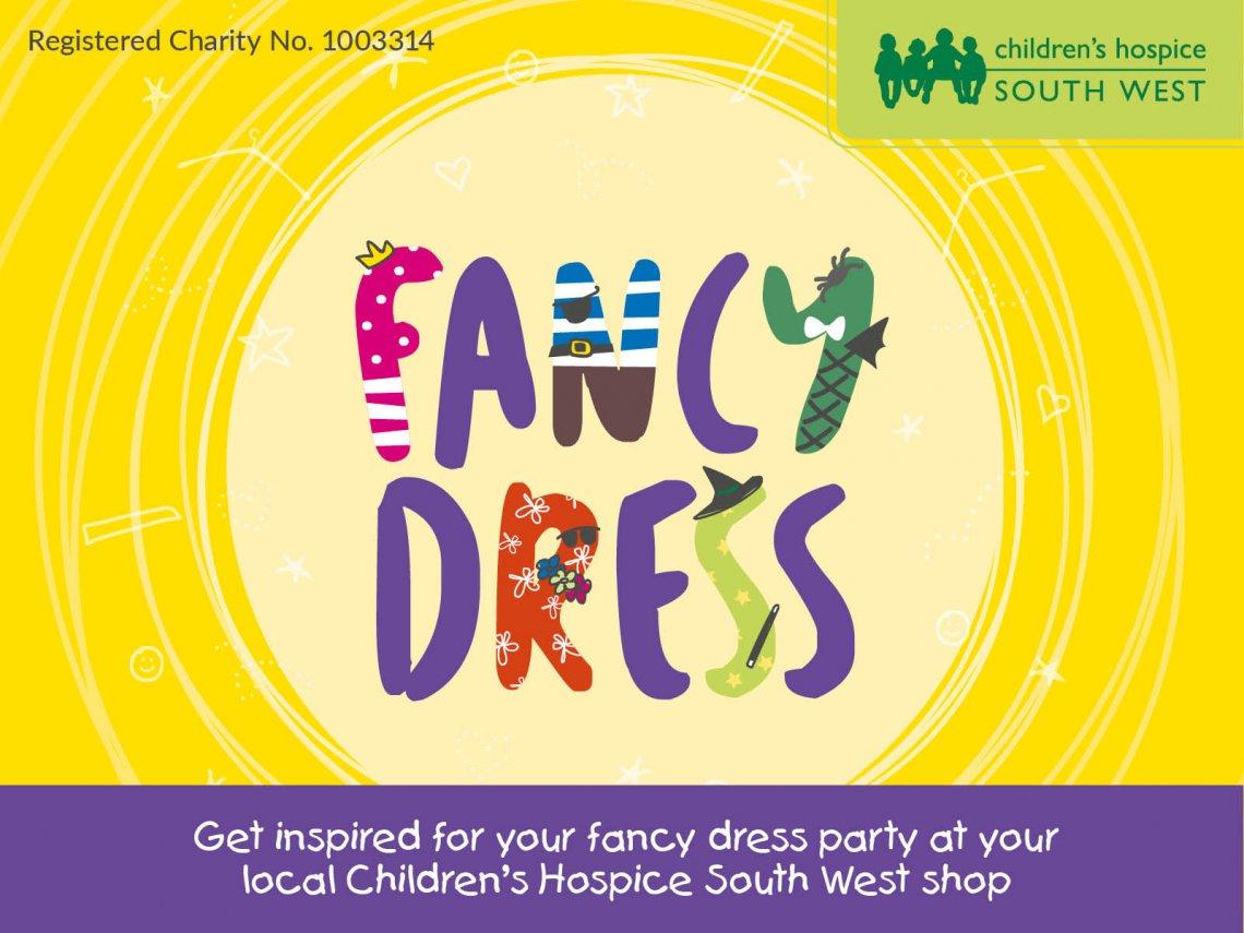 Fancy dress at CHSW charity shop