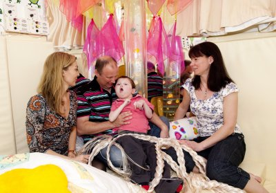 Family support at Children's Hospice South West