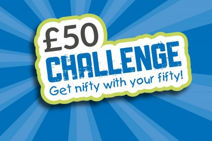 £50 Challenge logo