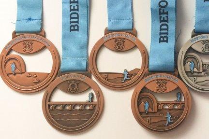 Bideford AAC medals