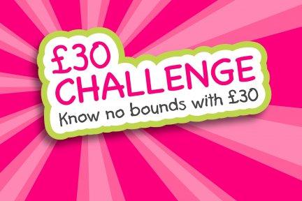 £30 Challenge logo