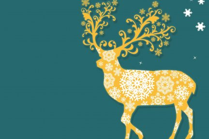 Animated deer