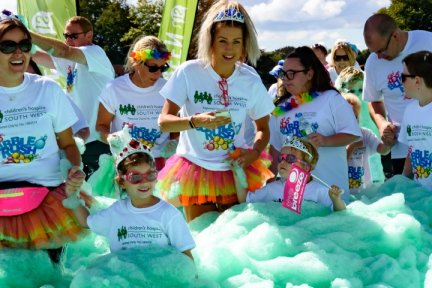 Sign up for our Bubble Rush event today
