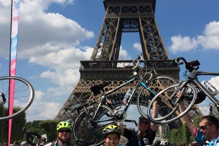 Discover Adventure London to Paris cycle event