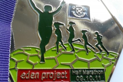 Run the Eden Project half or full marathon for CHSW