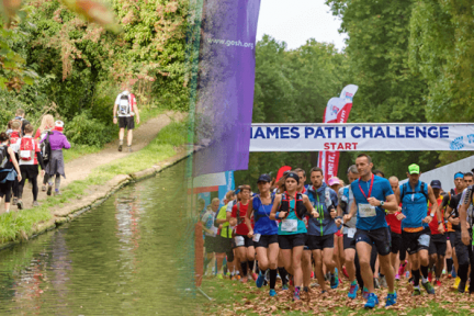 Take on the Thames Path Challenge