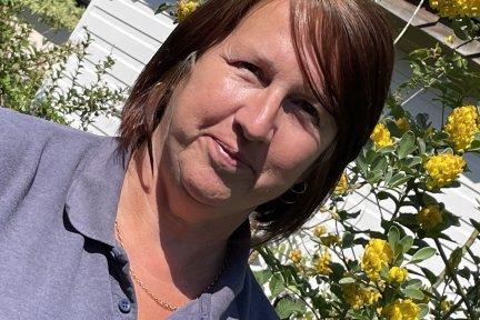 Senior carer Kay Holloway