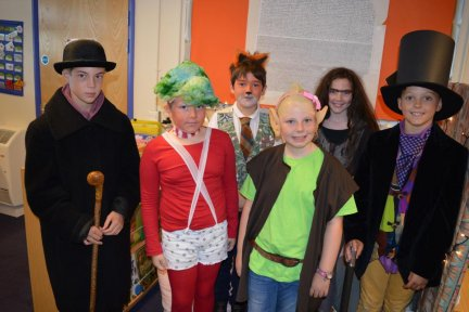 Constantine School fancy dress for Roald Dahl centenary