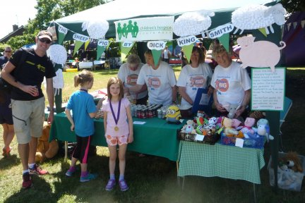 Mendip Friends Group at Congresbury Fete