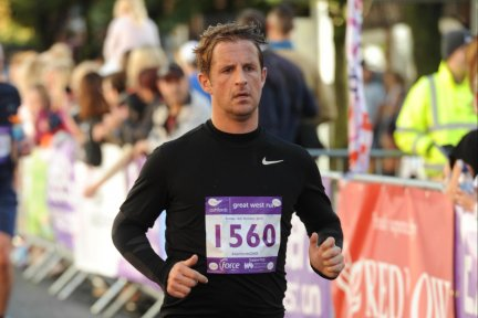 Jamie Vittles is running the London marathon in support of CHSW