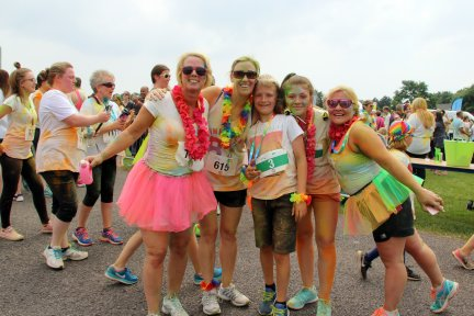 CHSW's Rainbow Run Exeter