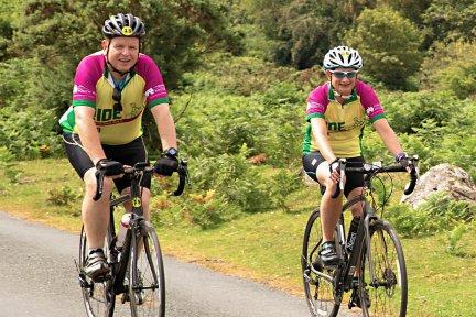 Ride for Precious Lives cyclists