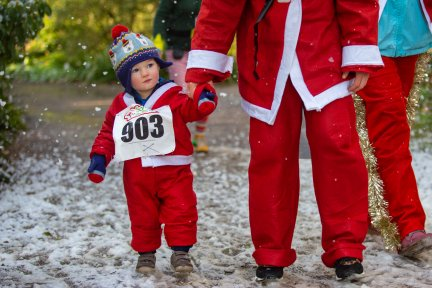 Fun for all ages at Rosemoor Santas on the Run. Picture: Tim Lamerton