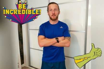 Alex Davey, from Barnstaple, is running 5km every day in January to raise money for Children's Hospice South West