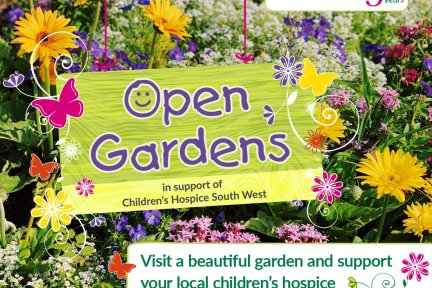 Visit an open garden this summer to support Children's Hospice South West