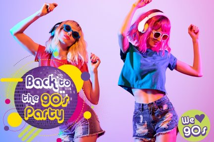 Back to the 90's party for CHSW