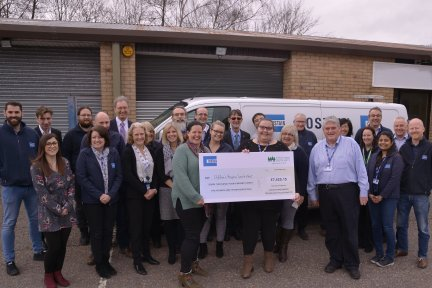 Costain-present-cheque-to-CHSW