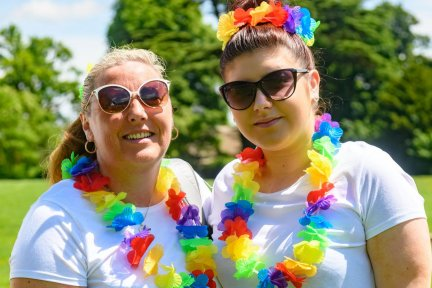 Get rainbowed up and run for Children's Hospice South West!