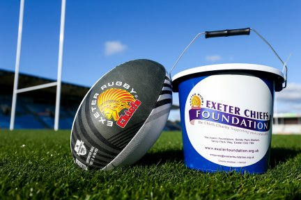 The Exeter Chiefs Foundation has partnered with CHSW for new rugby season