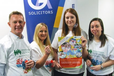 GA Solicitors Bubble Rush photo