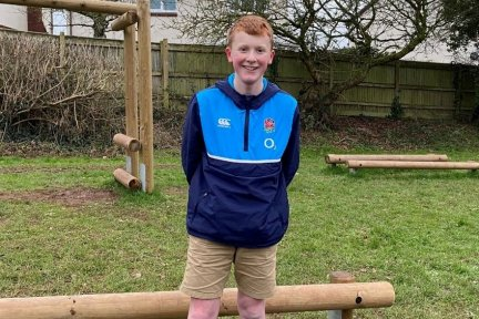 Jack Balchin from Devon has ran 63 miles in aid of Children's Hospice South West