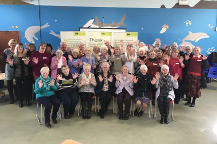 Volunteers at Little Harbour's Friends Group Conference