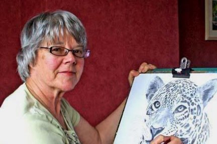 Maureen Crofts is raising funds for CHSW through the sale of her paintings