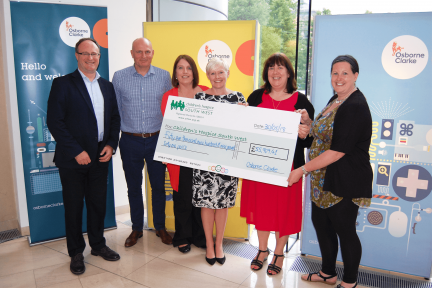 Osborne-Clarke-presents-cheque-to-CHSW