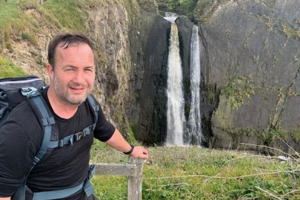 Paul Boddington will be walking the entire length of the South West Coast path in aid of Children's Hospice South West