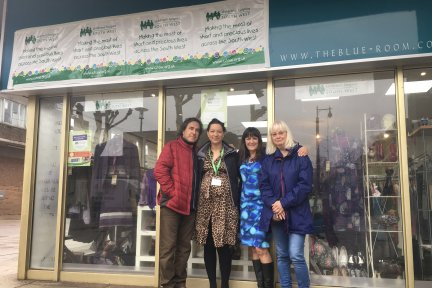 Paul-and-Renate-outside-the-Nailsea-Shop