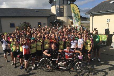 Ride for Precious Lives cyclists 2019