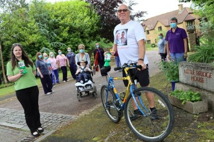 Rick Dean will be taking part in a special 30-mile running, walking and cycling challenge to raise money for Children's Hospice South West