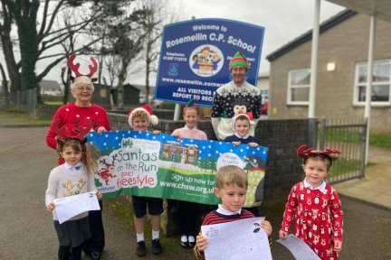 Pupils and staff at Rosemellin School in Cornwall are looking forward to taking part in Santas on the Run goes Freestyle