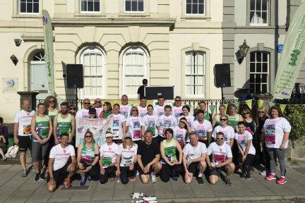 Team CHSW at Bristol 10k