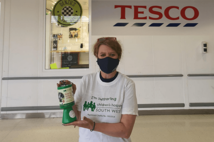 75 Tesco stores are supporting CHSW as their charity of the year