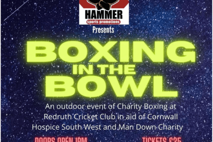 Boxing in the bowl on 19th September