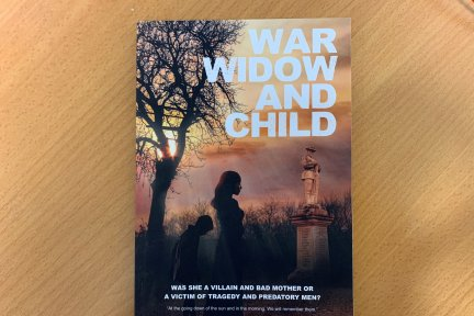 War-widow-and-child-book
