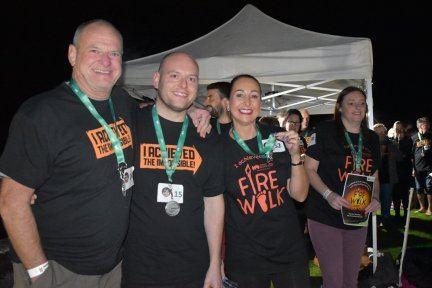 Firewalkers at Kitley House