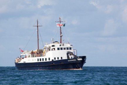 Enjoy a coastal cruise on the MS Oldenburg from Ilfracombe in aid of Children's Hospice South West on August 11, 2019..