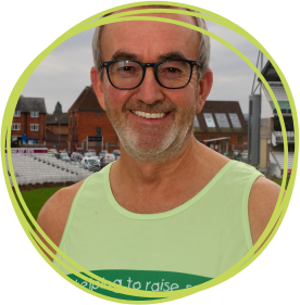 Former chairman of Somerset County Cricket Club Andy Nash, pictured at the Cooper Associates County Ground, is set to run the 2019 Virgin Money London Marathon in aid of Children's Hospice South West.