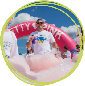 Sign up for our Bubble Rush today