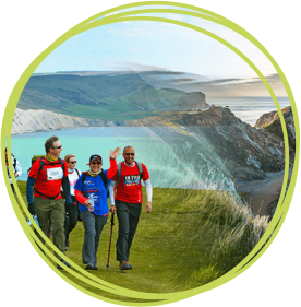 Take on the Jurassic Coast Challenge