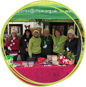 Fundraising team at Children's Hospice South West