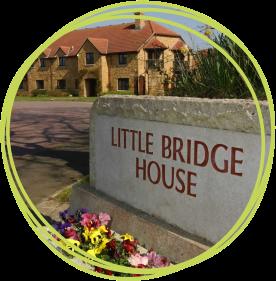 Little Bridge House entrance