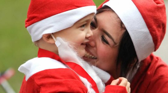 Take part in our Santas on the Run
