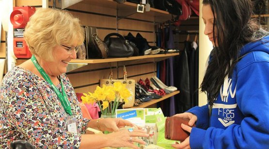 Help brighten lives by volunteering at one of our CHSW charity shops